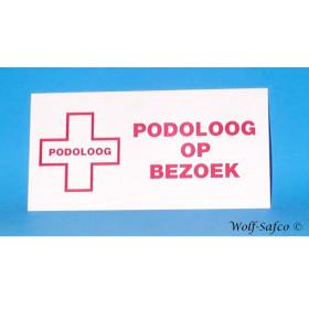 """PLAAT """"PODOLOOG OP BEZOEK"""" NL"""