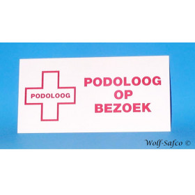 "PLAQUE ""PODOLOGUE EN..."