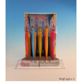 Display 20 couteau a cuticule  pop art